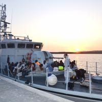 A Porto Empedocle sbarcati 241 migranti