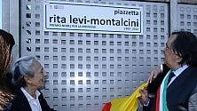 Policlinico, inaugurata  piazzetta Montalcini