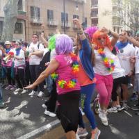 La festa di primavera con la Color run