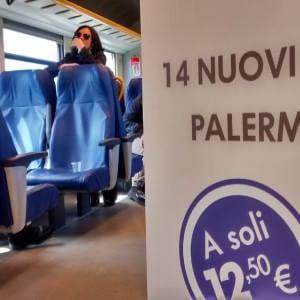 """Palermo-Catania in treno. """"Viaggio in meno di tre ore"""""""