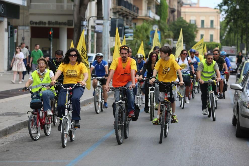 La pedalata di Amnesty in difesa dei diritti umani