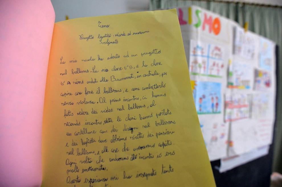I bambini delle elementari raccontano il bullismo con i disegni