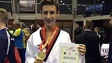 Il giovane Sampognaro  campione d'Europa