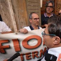 Ex Fiat di Termini Imerese: protesta a Roma davanti al Pd