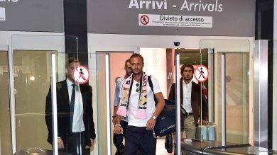 Gilardino sbarca in città    foto    Domenica a Udine con il numero 11