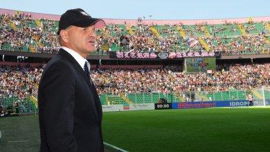 Al Barbera Palermo Sassuolo 0 - 1  Cronaca  Espulsi Iachini e Rigoni