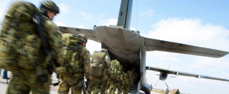 Trapani scenario di guerra per la maxi esercitazione della Nato