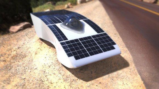 Archimede, l'auto da corsa solare made in Sicily
