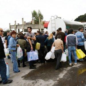 Messina senz'acqua: nuova rottura della condotta, è emergenza