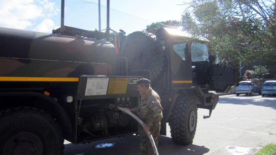 Messina senz'acqua: interviene l'Esercito, emergenza anche a Milazzo