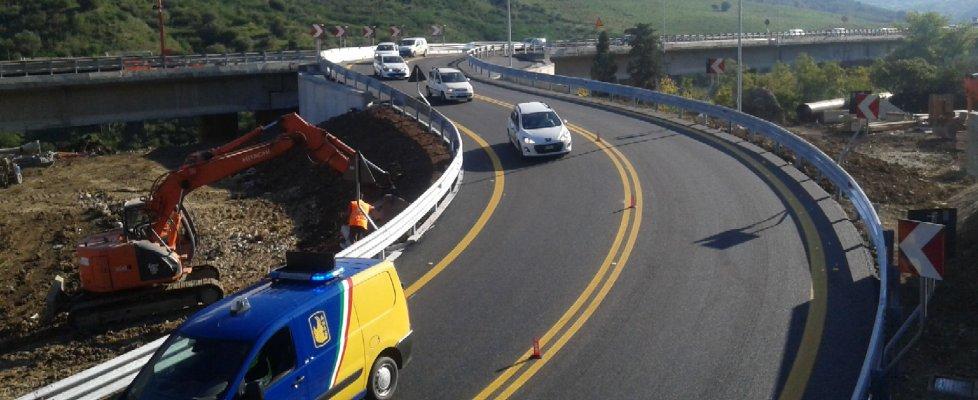 Aperta la bretella sull'A19, Palermo e Catania sono di nuovo collegate