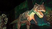 A Catania l'invasione  dei dinosauri