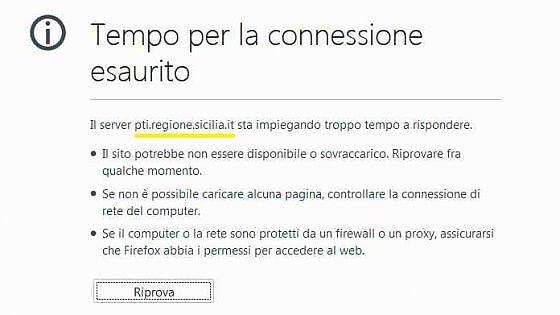 Il socio privato stacca la spina, paralisi informatica alla Regione Sicilia