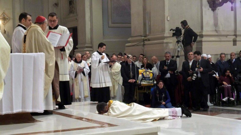 Don Lorefice nuovo vescovo, le immagini della cerimonia