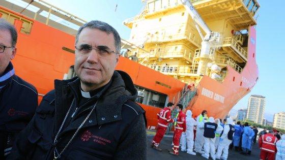 Quattro migranti ospiti dell'arcivescovo in Curia