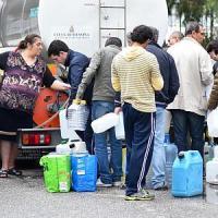 Emergenza idrica a Messina, nuova perdita nella condotta. Tecnici al lavoro