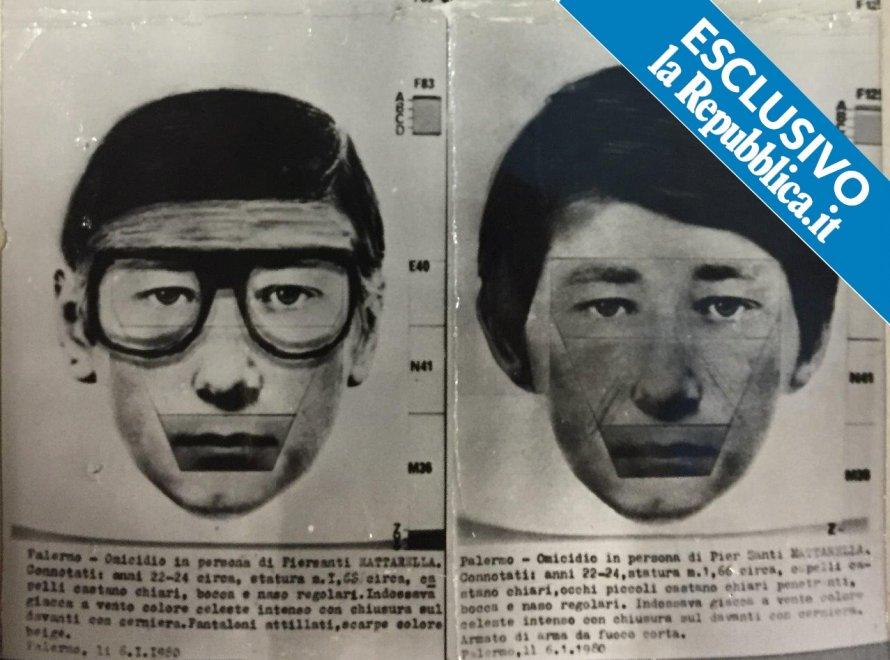 Nelle carte dell'inchiesta il volto mai visto del killer di Piersanti Mattarella