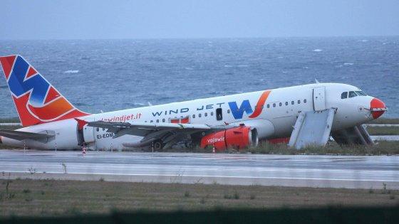 Inchiesta Wind jet, sopravvalutati i rottami dell'aereo finito fuori pista a Punta Raisi