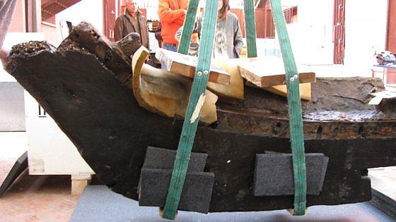 """Il """"Titanic"""" della Sicilia greca torna a Gela dopo un restauro lungo dodici anni (foto)"""