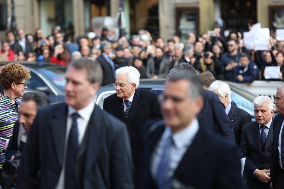 Mattarella a palermo inaugura l 39 anno accademico bagno di for G m bagno di giuntini massimo