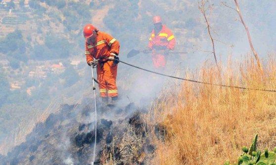 Gli intoccabili forestali. L'incendiario arrestato, condannato e di nuovo in servizio
