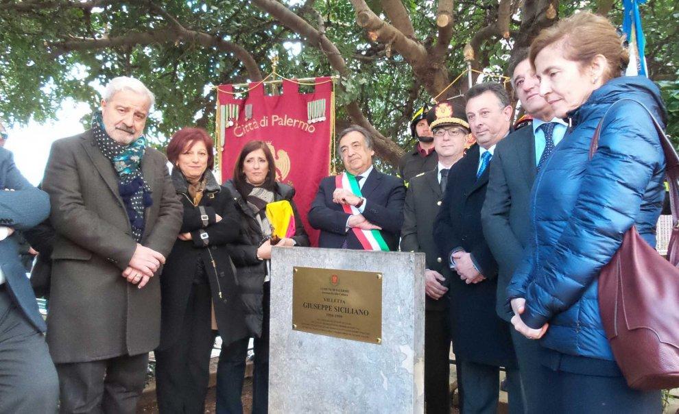Crollo di via Pagano a Palermo, villetta intitolata al vigile del fuoco morto