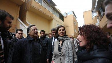 """Palermo, Boldrini allo Zen 2: """"La democrazia deve ripartire dalle periferie"""""""