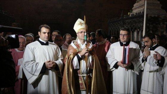 """L'arcivescovo Lorefice: """"Istituzioni pensino a più deboli e ultimi"""""""