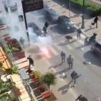 Ancora tifo violento, scontri fra ultras del Palermo e della Lazio