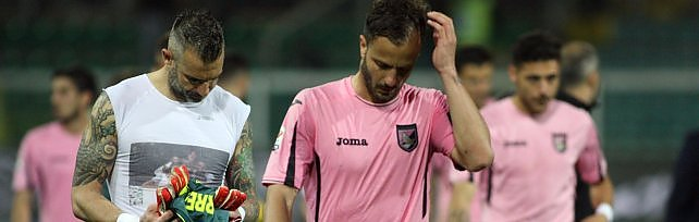 Il Palermo crolla con la Lazio. Alta tensione al Barbera