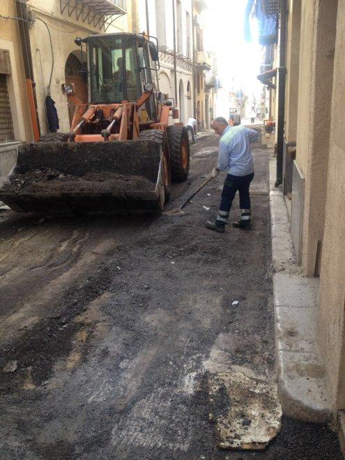 Palermo, nuovo asfalto da viale del Fante a Ballarò. Potature in viale Regina Margherita