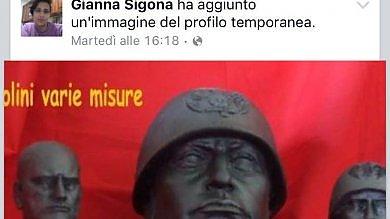 Ragusa, consigliere dei 5Stelle  esalta il fascismo su Facebook: espulsa   l'intervista: non festeggio il 25 aprile audio