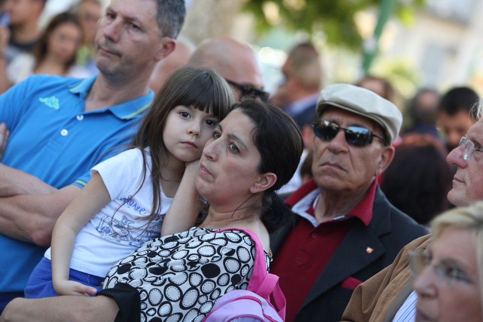 Musica e danze, bagno di folla alla Fiera del Mediterraneo - 1 di 1 ...
