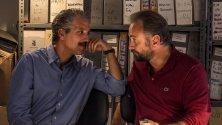 """Film   """"Era d'estate""""  video    l'esilio all'Asinara  foto   di Falcone e Borsellino"""