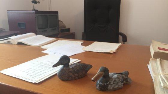 Nel bunker dei giudici Falcone e Borsellino, le loro stanze diventano un museo