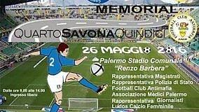 """Calcio: al """"Barbera"""" tutti in campo nel memorial """"Quarto Savona Quindici""""  Pallanuoto: il Telimar salvo perde a Roma"""