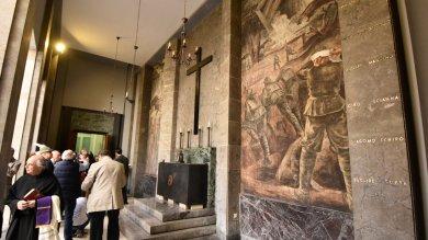 Foto  Il Fai restaura la Casa del Mutilato rivivono affreschi e nomi dei decorati