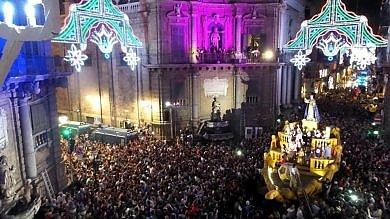 Festino di Santa Rosalia corsa a due per l'organizzazione