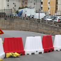 Chiuso da due settimane il sottopasso di via La Malfa, traffico in tilt sul ponte Belgio