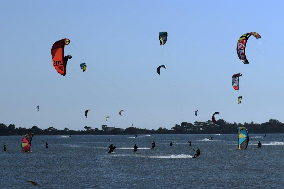 Marsala: lo Stagnone diventa capitale del kite surf