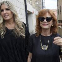 Susan Sarandon a Taormina: