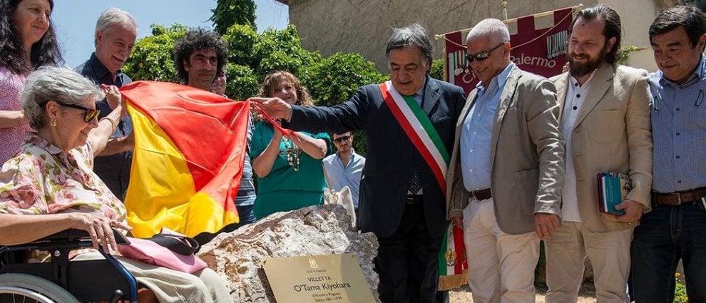 Palermo omaggia O'Tama Kyiohara: intitolata alla pittrice la villetta di via Praga
