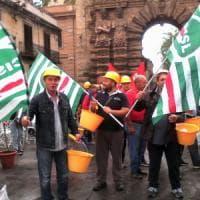 Edilizia, manifestazione a Palermo:
