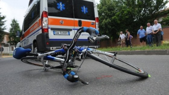 È catanese il ciclista morto a Naro