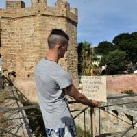 Riapre l'area archeologica del Castello a Mare con i pannelli dei ragazzi del Malaspina
