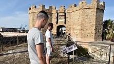 L'area archeologica del Castello a Mare riapre coi pannelli dei detenuti