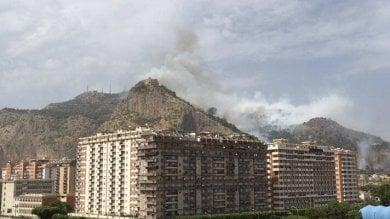 Palermo, dopo l'incendio del 16 giugno  riapre la strada di Monte Pellegrino