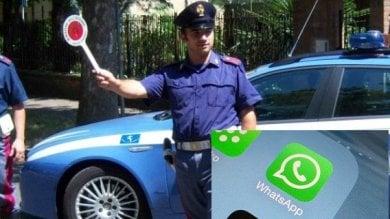 WhatsApp per evitare i posti di blocco a Canicattì indagini della polizia