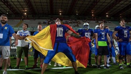 Football americano: gli Sharks Palermo vincono a Cesena, campioni d'Italia