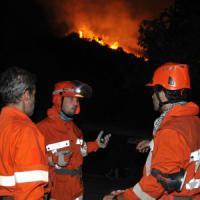Torna l'incubo incendi in Sicilia, vasto fronte di fuoco nel Ragusano